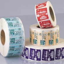 Clinique group - wet tissue adhesive label